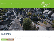 Tablet Preview of kurhaus-bad-fredeburg.de